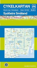 Sydöstra Småland  1:90 000 (Cykelkartan, nr. 8)