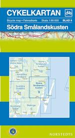 Södra Smålandskusten  1:90 000 (Cykelkartan, nr. 9)