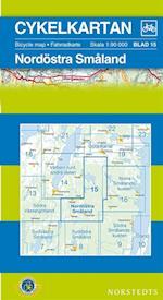 Nordöstra Småland  1:90 000 (Cykelkartan, nr. 15)