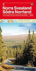 Norra Svealand/Södra Norrland 1:250.000 (Bil turistkartan, nr. 4)