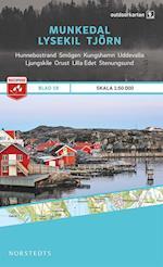 Munkedal - Lysekil - Tjärn  1:50.000 (Outdoorkartan, nr. 19)