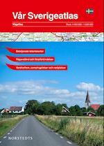 Vår Sverigeatlas : bil- och turistatlas  (1:400 000/1:628 000) (m. bykort)