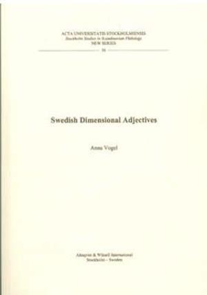 Bog, paperback Swedish Dimentional Adjectives af Anna Vogel