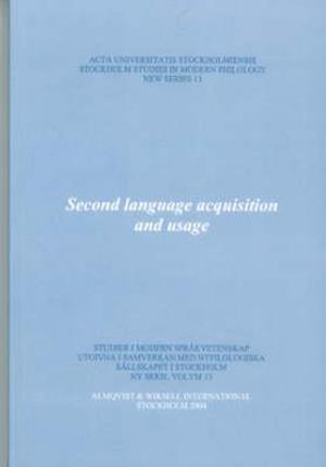 Bog, paperback Second Language Acquisition and Usage af Britt Erman