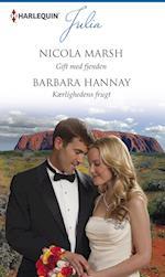 Gift med fjenden/Kærlighedens frugt af Barbara Hannay, Nicola Marsh