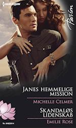 Janes hemmelige mission/Skandaløs lidenskab af Emilie Rose, Michelle Celmer