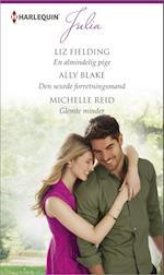 En almindelig pige/Den sexede forretningsmand/Glemte minder af Ally Blake, Michelle Reid, Liz Fielding