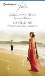 Kærlighed i kulissen/Bryllupsarrangøren og milliardæren af Carol Marinelli, Liz Fielding