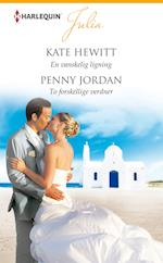En vanskelig ligning/To forskellige verdner af Kate Hewitt, Penny Jordan
