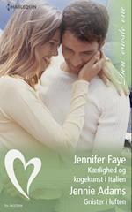 Kærlighed og kogekunst i Italien/Gnister i luften af Jennie Adams, Jennifer Faye