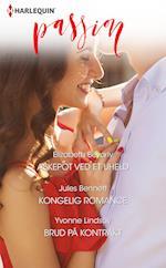 Askepot ved et uheld/Kongelig romance/Brud på kontrakt af Elizabeth Bevarly, Yvonne Lindsay, Jules Bennett