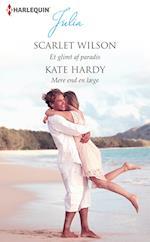 Et glimt af paradis/Mere end en læge af Kate Hardy, Scarlet Wilson