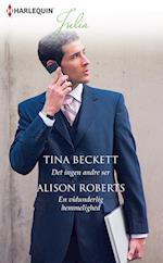 Det ingen andre ser/En vidunderlig hemmelighed af Alison Roberts, Tina Beckett