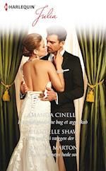 Hemmelighederne bag et ægteskab/Lille spejl på væggen der ... /Under ørkenens hede sol af Chantelle Shaw, Sandra Marton, Amanda Cinelli