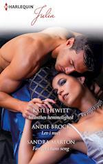 Iolanthes hemmelighed/Lev i nuet/Fanget i hans seng af Kate Hewitt, Sandra Marton, Andie Brock