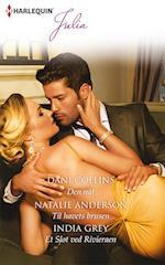 Den nat/Til havets brusen/Et slot ved Rivieraen af India Grey, Natalie Anderson, Dani Collins