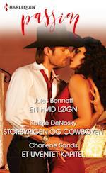En hvid løgn/Storbypigen og cowboyen/Et uventet kapitel af Charlene Sands, Kathie DeNosky, Jules Bennett