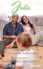 Et ocean af kærlighed/Karrierepige i ødemarken af Fiona Lowe, Marion Lennox