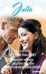 Spil for galleriet/Jagten på den argentinske kærlighed af Amy Ruttan, Meredith Webber