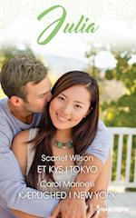 Et kys i Tokyo/Kærlighed i New York (Julia Lægeroman)