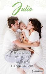 Kys til jul/Eleanors baby af Alison Roberts, Janice Lynn