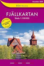 Kiruna  1:100 000 (Fjällkartan, nr. 4)