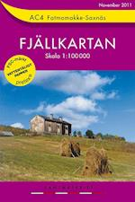 Fatmomakke - Saxnäs  1:100 000 (Fjällkartan, nr. 4)