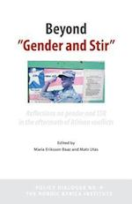Beyond 'Gender and Stir': Reflections on Gender and Ssr in the Aftermath of African Conflicts