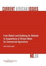 From Global Land Grabbing for Biofuels to Acquisitions of African Water for Commercial Agriculture