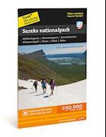 Sareks nationalpark 1:50.000