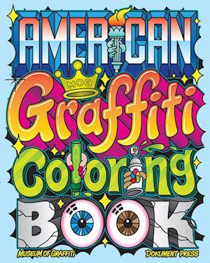 American Graffiti Coloring Book