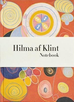 Hilma AF Klint Orange Notebook