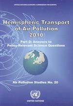 Hemispheric Transport Air Pollution 2010 (Air Pollution Studies)