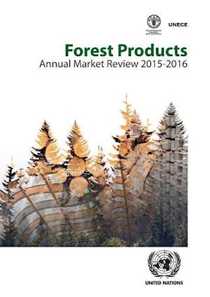 Bog, paperback Forest Products Annual Market Review af United Nations, Economic Commission for Europe