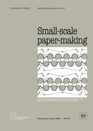 Small-scale paper-making (Technology Series. Technical Memorandum No. 8)