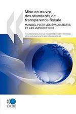Mise En Oeuvre Des Standards de Transparence Fiscale