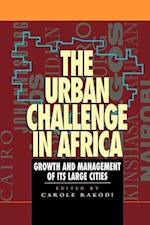 The Urban Challenge in Africa (Mega-city)