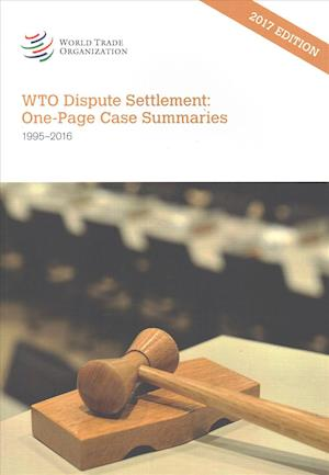 WTO Dispute Settlement 2017