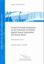 Council of Europe Convention on the Protection of Children Against Sexual Exploitation and Sexual Abuse, Lanzarote...