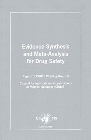 Bog, paperback Evidence Synthesis and Meta-Analysis for Drug Safety af Cioms