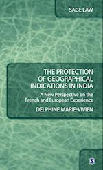 The Protection of Geographical Indications in India (Sage Law)