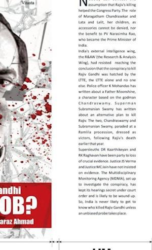 Bog, hardback Assassination of Rajiv Gandhi AN INSIDE JOB? af Faraz Ahmad