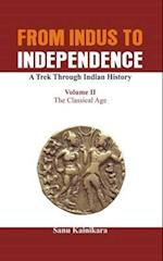 From Indus to Independence - A Trek Through Indian History af Dr Sanu Kainikara