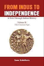 From Indus to Independence - A Trek Through Indian History af Sanu Kainikara