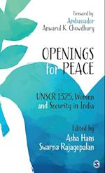 Openings for Peace