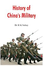 History of China's Military af Dr R K Sahay