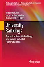 University Rankings af Jung Cheol Shin, Robert K Toutkoushian, Ulrich Teichler