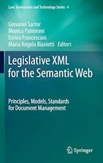Legislative XML For The Semantic Web (Law, Governance and Technology)