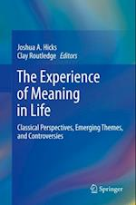 Experience of Meaning in Life