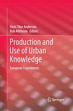 Production and Use of Urban Knowledge